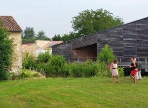 Vue du Moulin du marais à Lezay
