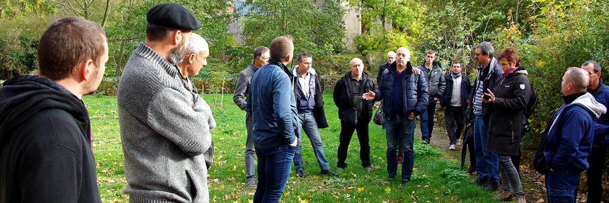 Formation sur l'utilisation des plantes vivaces dans le fleurissement des espaces publics - Saint-Généroux 2016