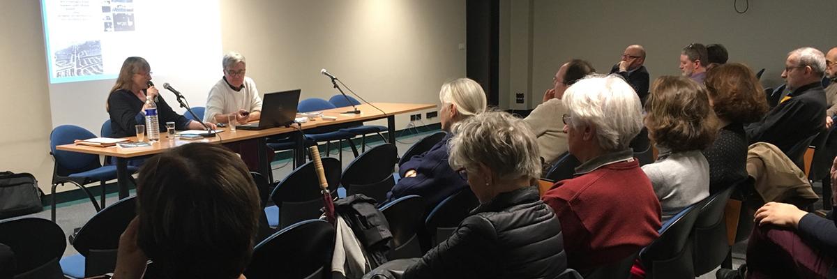 Conférence de Chantal Callais et Thierry Jeanmonod