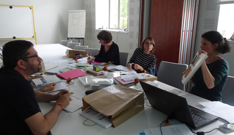 Session de formation pour des enseignants : atelier l'arbre et Cui-Cui