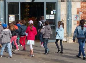 Visite de Niort avec une classe de primaire
