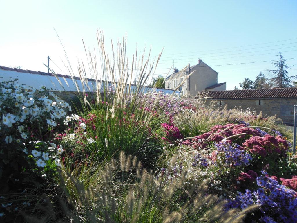 Fleurissement à Saint-Jean de Thouars