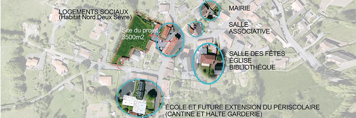 Projet d'habitat groupé à Brétignolles