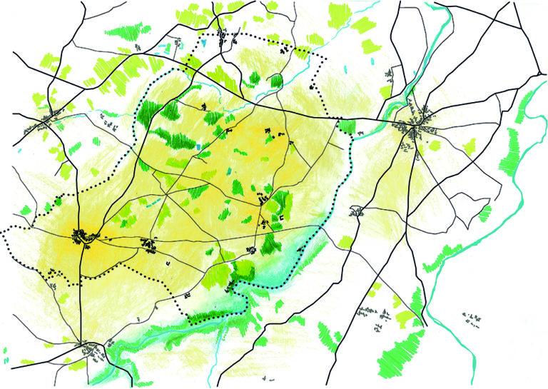 Analyse des paysages de la commune de Bouillé-Saint-Paul à l'échelle du territoire