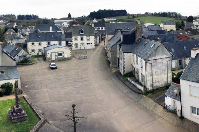 Cloître-Saint-Thégonnec (29), avant les aménagements