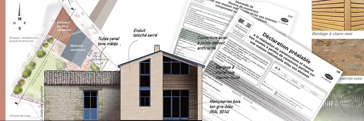 Documents d'un permis de construire