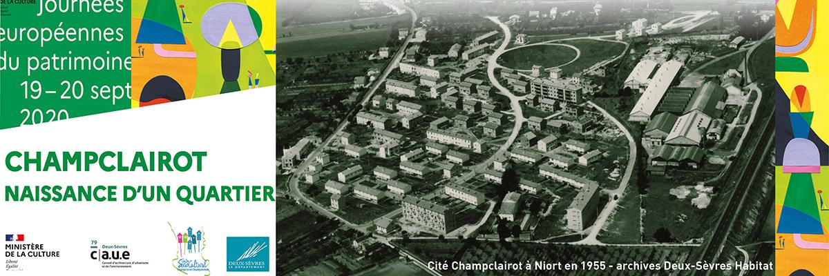 Bandeau pour la visite des Castors à Niort photo d'archive