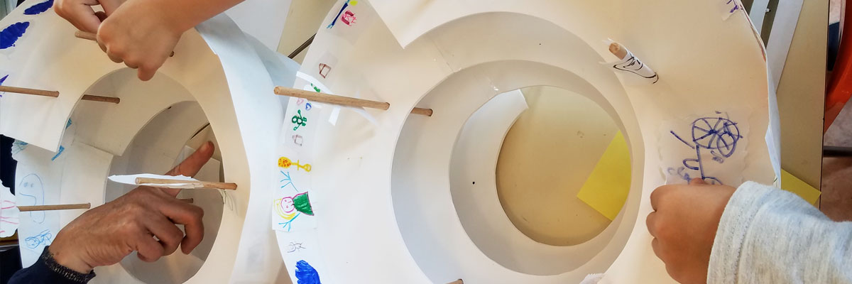 Projet d'éducation artistique et culturel au château d'Oiron
