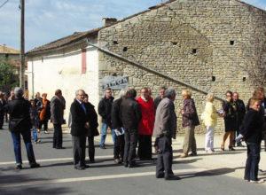 Visite de Saint-Martin d'Entraigues (Fontenille)